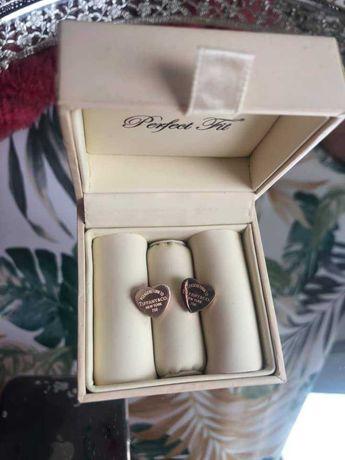 wkręty Tiffany&Co 45zl kolor różowe złoto  kolczyki