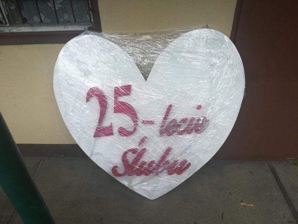 Serce na 25-lecie ślubu