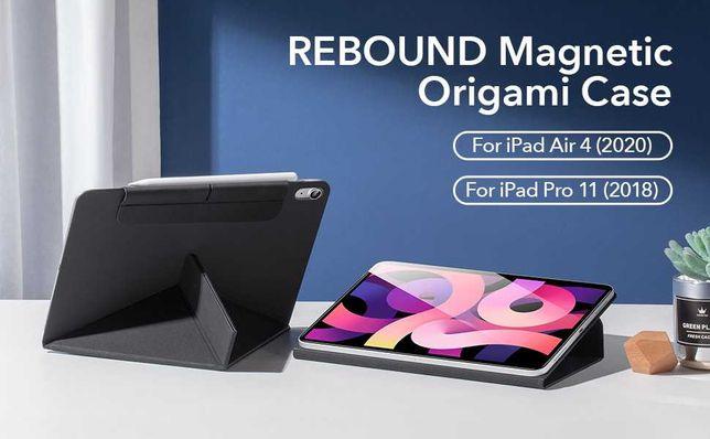 Nova! Capa Origami para iPad Air 4 10,9 polegadas preta