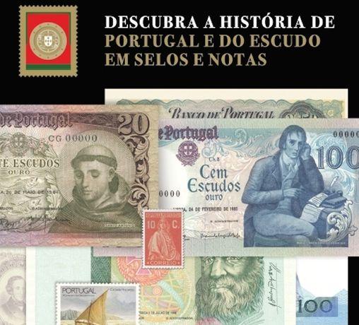 Coleção Notas e selos da História de Portugal