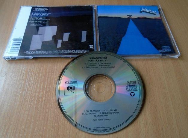 JUDAS PRIEST – Point Of Entry [фирменный CD, USA, ранний неремастер]