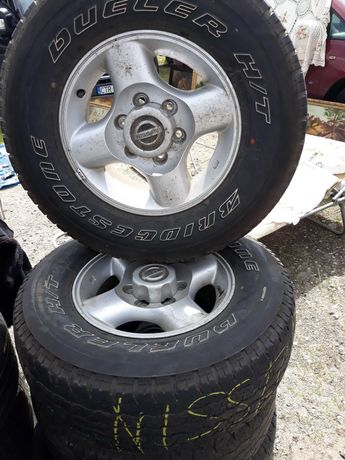 Alufelgi Nissan Navara 16 cali
