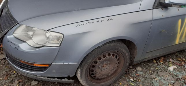 BŁOTNIK Lewy Przedni Przód VW PASSAT B6 05r-10r LB5M
