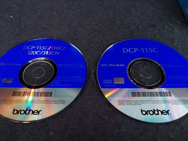 Brother dcp 115c 116c 120c 315cn sterowniki plyty CD
