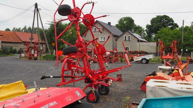 Przetrząsarka do siana SIP model Spider 685 PRO.
