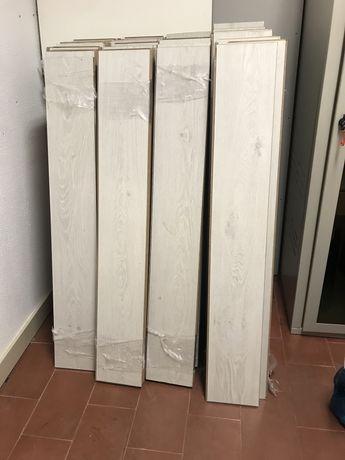 Soalho madeira usado