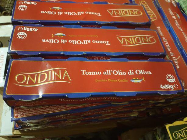Тунець Ondina в оливковій олії 80гр