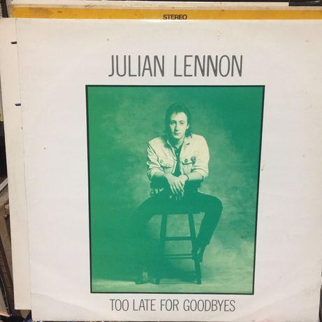 Vinil single: Julian Lennon - Too late for goodbyes 1984