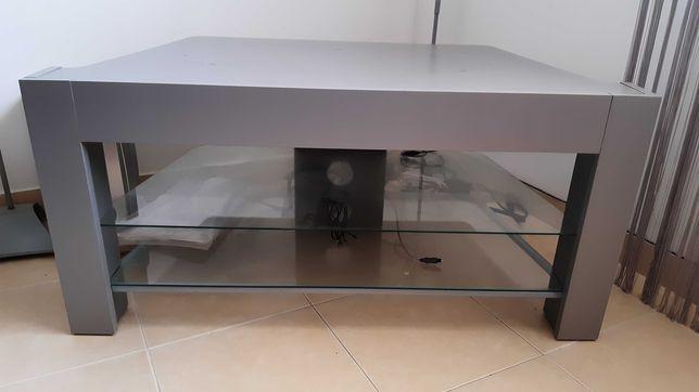 Mesa de canto para televisão