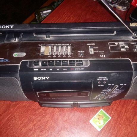 магнитофон Sony CFS-D30S Mega Bass