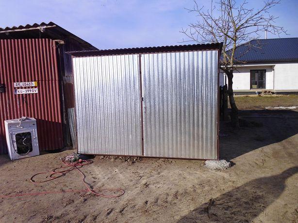 WZMACNIANE Garaże blaszane 3x5 blaszak blaszaki wiaty garaż blaszany