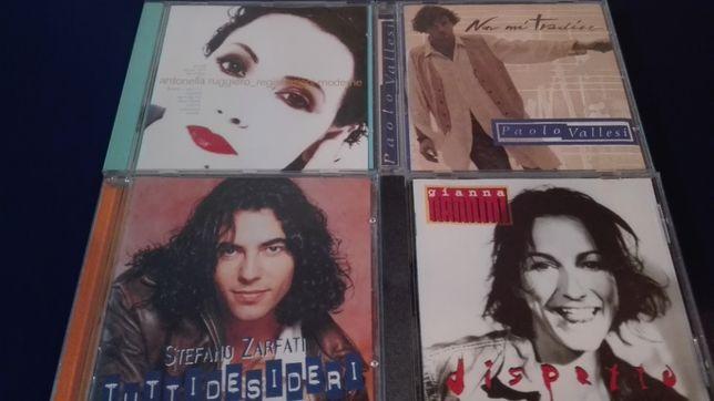 Lote CDs Gianna Nannini – Lara Fabian – Mana