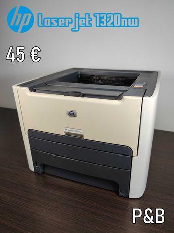 VÁRIAS | Impressora Laser HP desde 45€ - LaserJet P&B e Cores