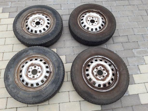 Koła opony z felgami felgi Fiat 155/80 R13