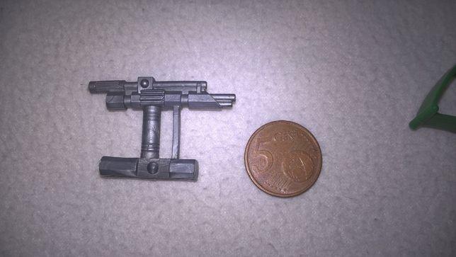 Marshall BraveStarr Pistola anos 80 Tex Hex para figura 1986 Vintage