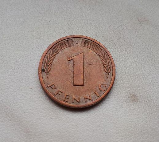 35) NIEMCY - 1 Pfennig - 1989 r.