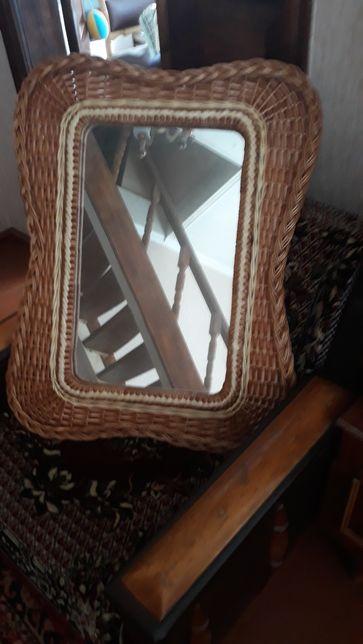 продам зеркало з лозы