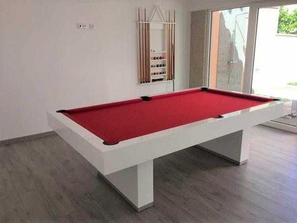 Mesa Snooker Lisboa com Tampo jantar - Bilhares capital
