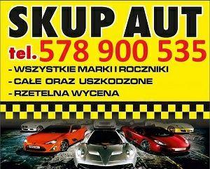 Skup Aut za Gotówkę Całodobowo  dojazd gratis 7dni w tygodniu