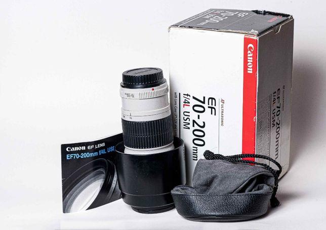Продаю Canon EF 70-200mm F4,0L USM