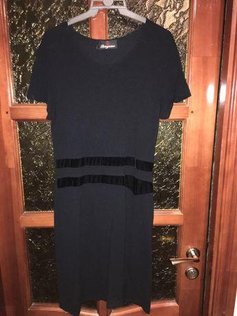 Черное вечерное платье женское, юбка