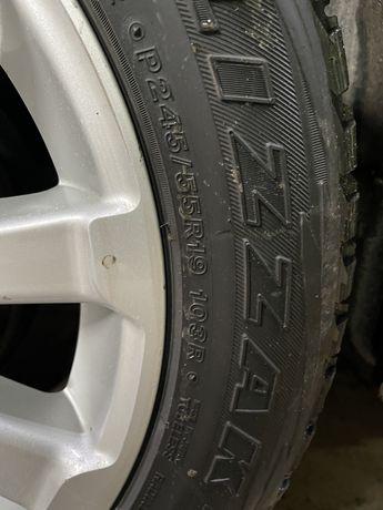 Продам резину 245/55 R19 Lexus/Toyota/Infinity 2011 Bridgestone