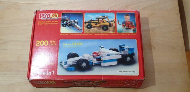 Brinquedo - Sistema montagem com peças Madeira