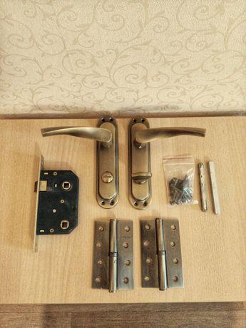 Дверные ручки, дверной замок, петли