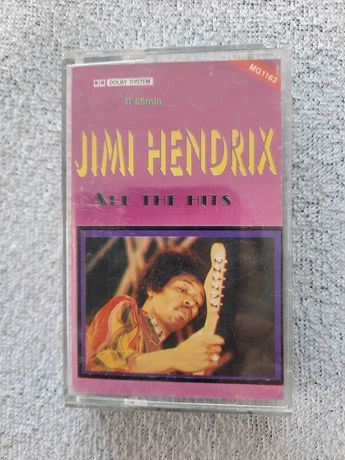 Kaseta magnetofonowa Jimi Hendrix all the hits