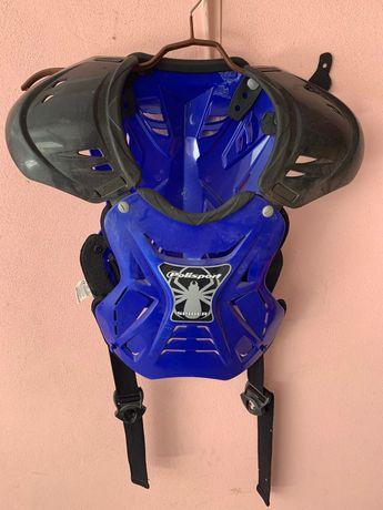 Colete proteção para motocross