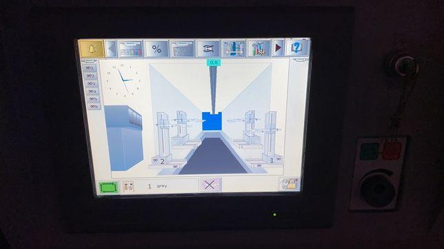 Automatyczna lakiernia proszkowa Nordson PCV szybka zmiana koloru