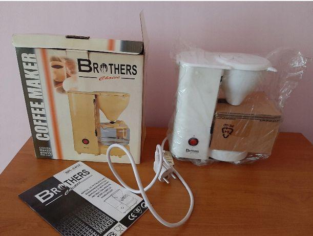 Nowy ekspres do kawy Brothers BR-2402 biały
