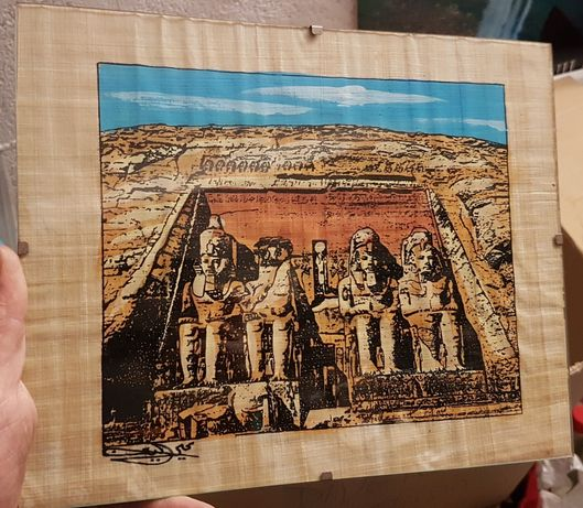Papiro egípcio original