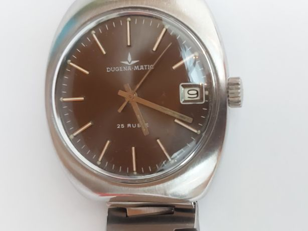 Relógio Dugena-matic vintage anos 60