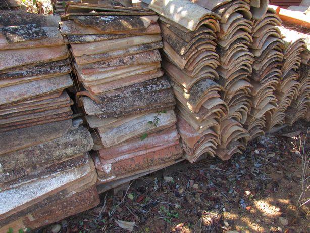 telha   de canudo rustica