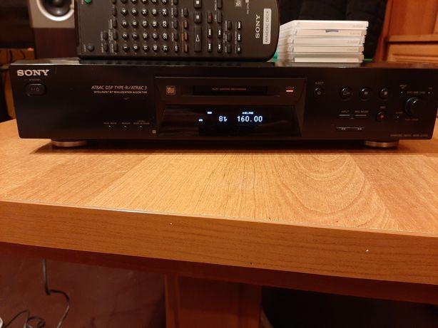 Nagrywarka Mini Disc Sony je 470 z pilotem