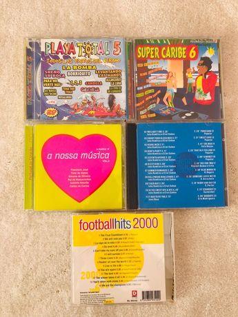 5 CD's - playa/ Caribe / Football hits
