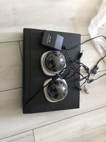 Продам видеорегистратор 4 х канальный с комплектом 2 х камер.