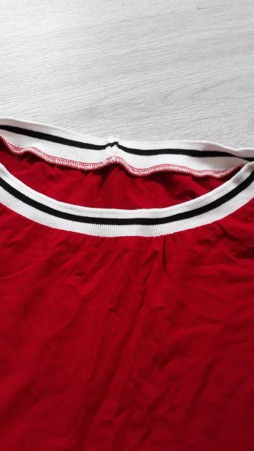 Duża czerwona bluzka 54/56