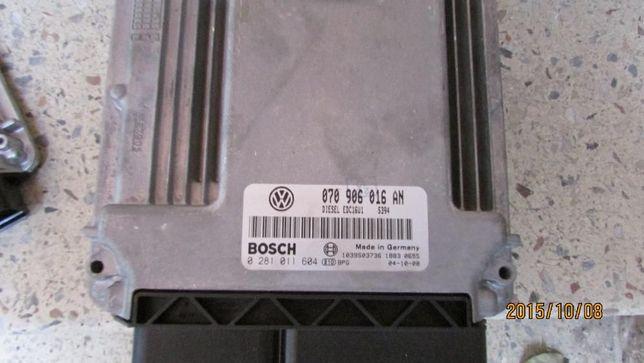Блок управления двигателем 070906016EB 070906016EC VW T5 Transporter