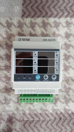 Мультиметр (вольтметр амперметр частотомер) на DIN-рейку EM-06DIN
