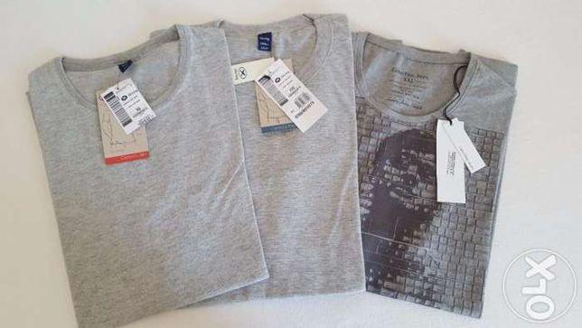 T-shirts homem manga curta Hering e Calvin Klein NOVAS