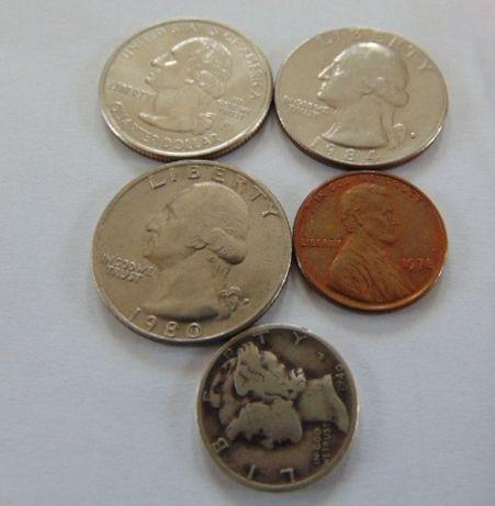 Monety Stany Zjednoczone USA