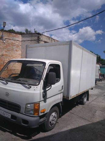 HYUNDAI HD-65 грузовой автомобиль фургон изотерм продажа