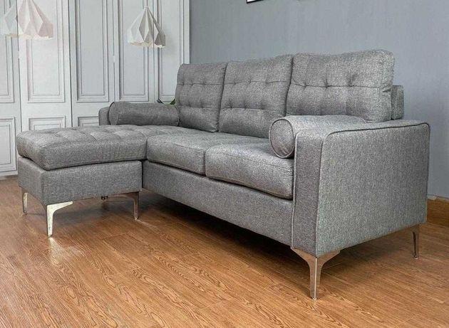 Sofá design novo. Nunca usado e já montado