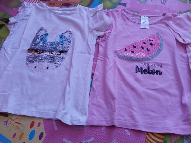 Tshirts menina 5-6 anos e 6-7 anos