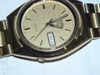 **Zegarek SEIKO 5 złoty- automatic-Lombard Stówka**