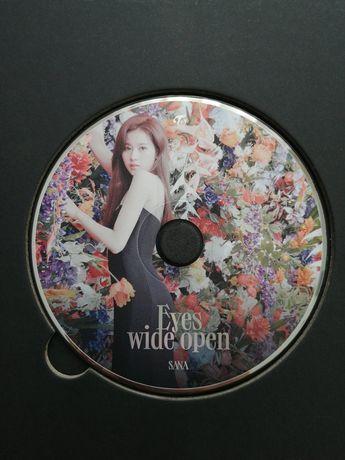TWICE Sana eyes wide open kpop Jihyo korea