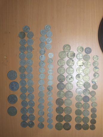 Монеты СССР 2коп, 3коп, 5коп, 10коп, 20коп, 1 рубль