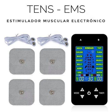 Electroestimulador TENS EMS e massagem